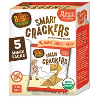 Bitsy's Brainfood Original Maple Carrot Crackers