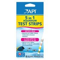 API 5 In 1 Aquarium Test Strips
