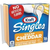 Kraft Sharp Cheddar Slices Cheese