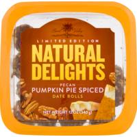 Bard Valley Date Rolls, Pecan Pumpkin Pie Spiced