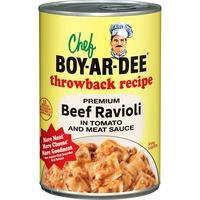 Chef Boyardee Beef Ravioli Throwback Recipe