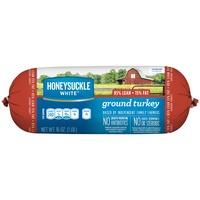 Honeysuckle White® 85% Lean / 15% Fat Ground Turkey Roll