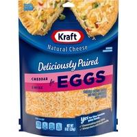 Kraft Cheddar & Swiss Shredded Cheese for Eggs