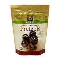 365 Organic Dark Chocolate Covered Pretzels