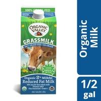 Organic Valley Grassmilk Organic 2% Reduced Fat Milk, Ultra Pasteurized