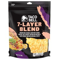 Taco Bell Natural Shredded Cheese Seven Layer Blend