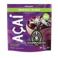 Sambazon Organic Original Acai Berry + Guarana Smoothie Packs