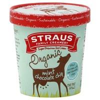 Straus Family Creamery Organic Mint Chocolate Chip Ice Cream