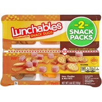 Oscar Mayer Lunchables Snack Duos Ham, Cheddar & Mini Ritz Snack Combinations