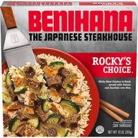 Benihana The Japanese Steakhouse Rocky's Choice Frozen Meal