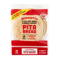 Joseph's Mediterranean Cuisine Flax Pita Bread