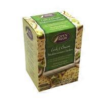 Open Nature Leek & Onion Mediterranean Crackers