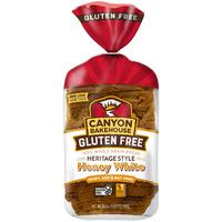 Canyon Bakehouse Gluten Free Heritage Style Honey White 100% Whole Grain Bread