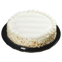"10"" White Cake With Vanilla Mousse"