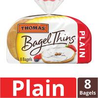 Thomas Plain Bagel Thins