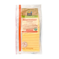 365 Organic Muenster Cheese Slices