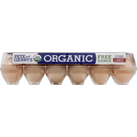 Pete and Gerrys Eggs, Organic, Free Range, Large, Grade A