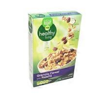 Eating Right for Healthy Living Granola With Raisins