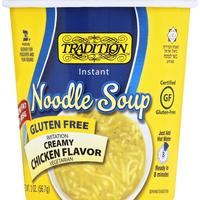 Tradition Instant Noodle Soup, Imitation Creamy Chicken Flavor