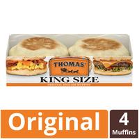 Thomas' King Size English Muffins