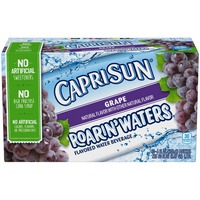 Caprisun Roarin' Waters Grape Flavored Water Beverage