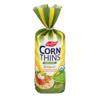 Del Real Foods Corn Thins Organic Sesame - 25 CT