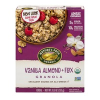 Nature's Path Organic Granola Vanilla Almond + Flax