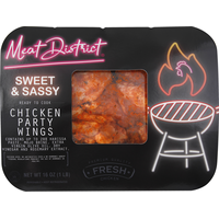 Meat District Chicken Party Wings, Sweet & Sassy