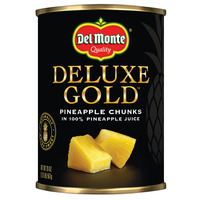 Del Monte Pineapple Chunks in 100% Pineapple Juice