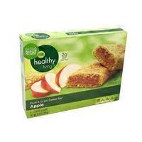 Eating Right For healthy living Apple Fruit & Grain Cereal Bars