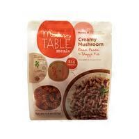 Modern Table Meals Creamy Mushroom Bean Pasta & Veggie Kit