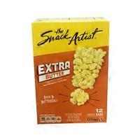 The Snack Artist Extra Butter Microwave Popcorn