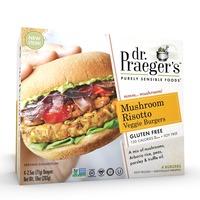 Dr. Praeger's Mushroom Risotto Veggie Burgers - 4 CT