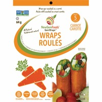 New Gem Carrot Sandwich Wraps