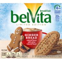 belVita Breakfast Biscuits, Ginger Bread