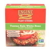 Engine 2 Plant Strong Tuscan Kale White Bean Plant Burger
