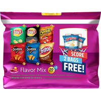 Frito Lay's Potato Chips, Flavor Mix, Variety Pack