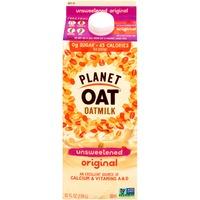 Planet Oat Unsweetened Original Oatmilk