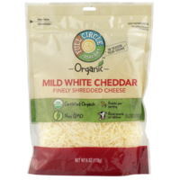 Full Circle Mild White Cheddar Finely Shredded Cheese