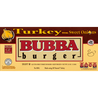 Bubba Burger Burgers, Turkey with Real Sweet Onions