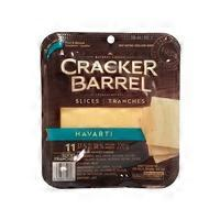 Kraft Cracker Barrel Havarti Cheese Slices