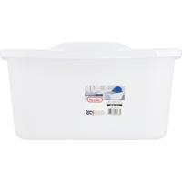 Sterilite Sink Set, White, 18 Quarts
