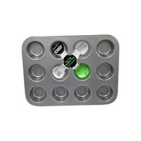 Family Chef 12-Cup Muffin Pans