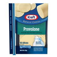 Kraft Provolone Cheese Slices