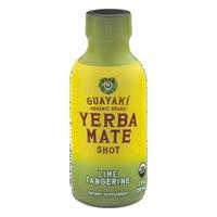 Guayaki Yerba Mate Shot Lime Tangerine