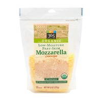 365 Organic Shredded Mozzarella