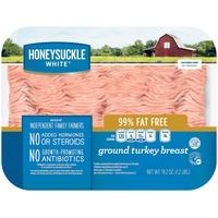 Honeysuckle 99% Ground Turkey Breast
