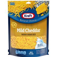 Kraft Shredded Mild Cheddar Cheese