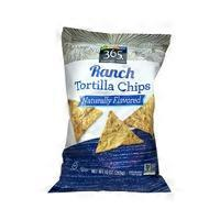 365 Ranch Tortilla Chips Naturally Flavored