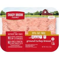 Shady Brook Farms 99% Fat Free Ground Turkey Breast Tray